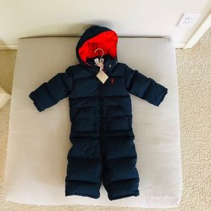 Ralph Lauren | Down Toddler Snowsuit